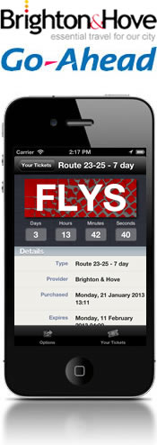 Brighton & Hove buses launch Corethree's mobile ticketing for the City of Brighton