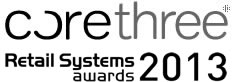 Corethree shortlisted for Retail Systems Awards 2013