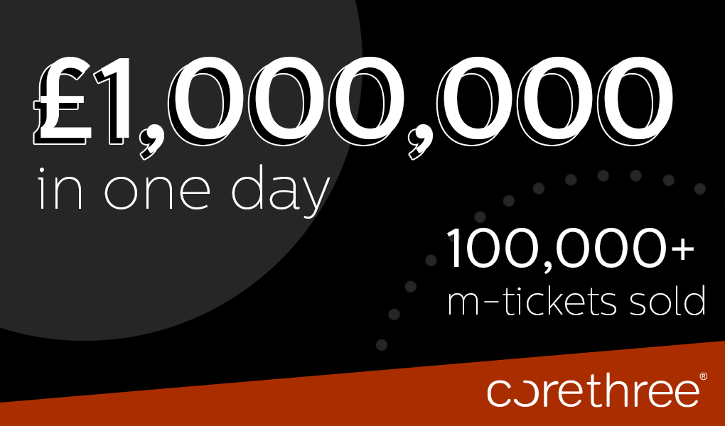 1 Million Milestone for Mobile Ticketing Giant