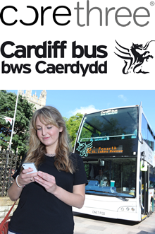 Corethree extends its m-ticketing deployment to Wales via Cardiff Bus