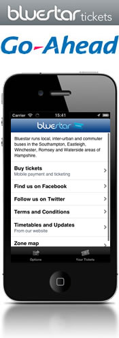 Bluestar Buses and Corethree introduce cashless ticketing to the City of Southampton