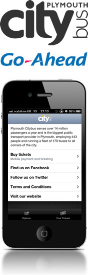 Plymouth Citybus selects Corethree solution to drive m-ticketing for smartphones